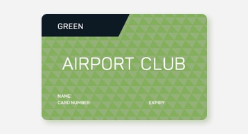 Green Airport Club Card