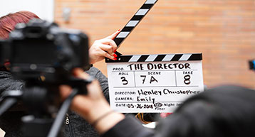Action Clapper Film Director