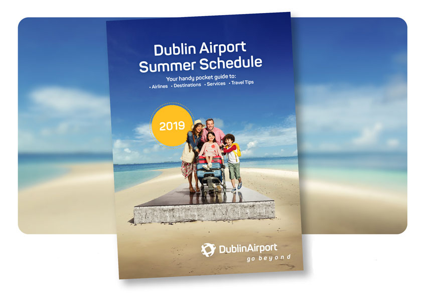 Dublin Airport Flight Schedule Front Cover