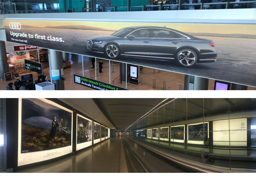 Classic_advertising_Dublin_airport_examples_Billboard_and_walkway